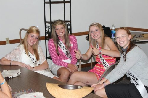2012 Queen Judging Day